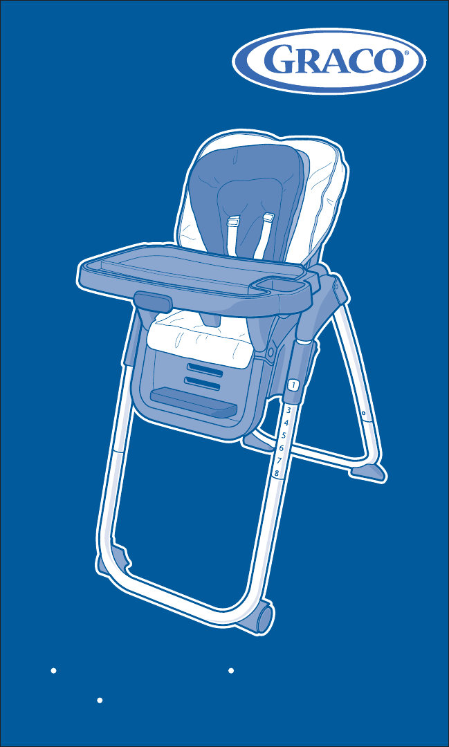 Graco High Chair Pd215128d User Guide Manualsonline Com