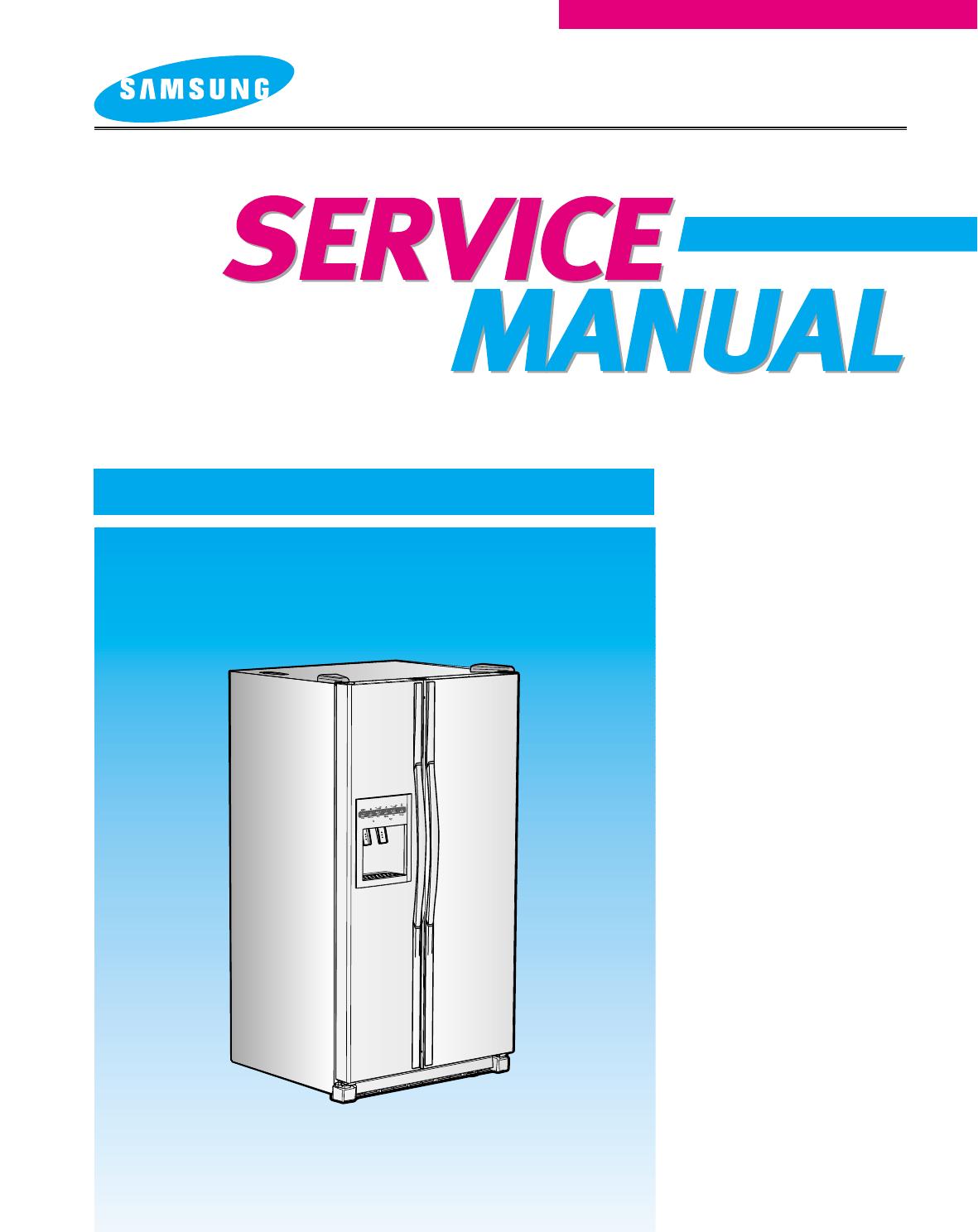 Samsung Refrigerator Rs2511 User Guide Manualsonline Com