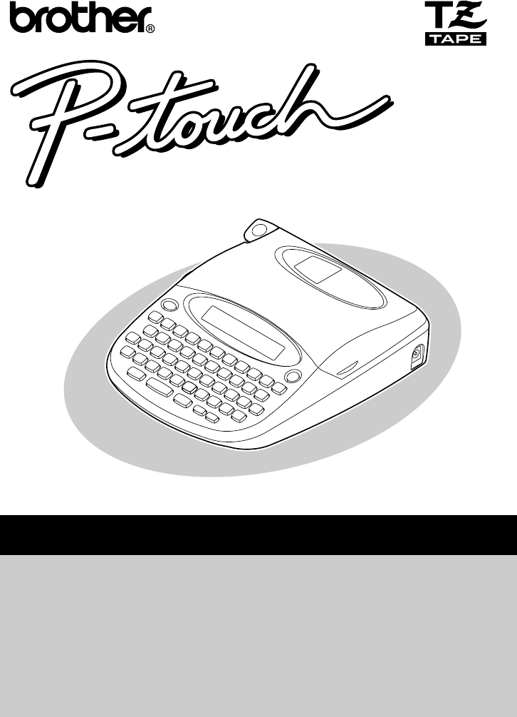 brother p touch 1000 manual pdf