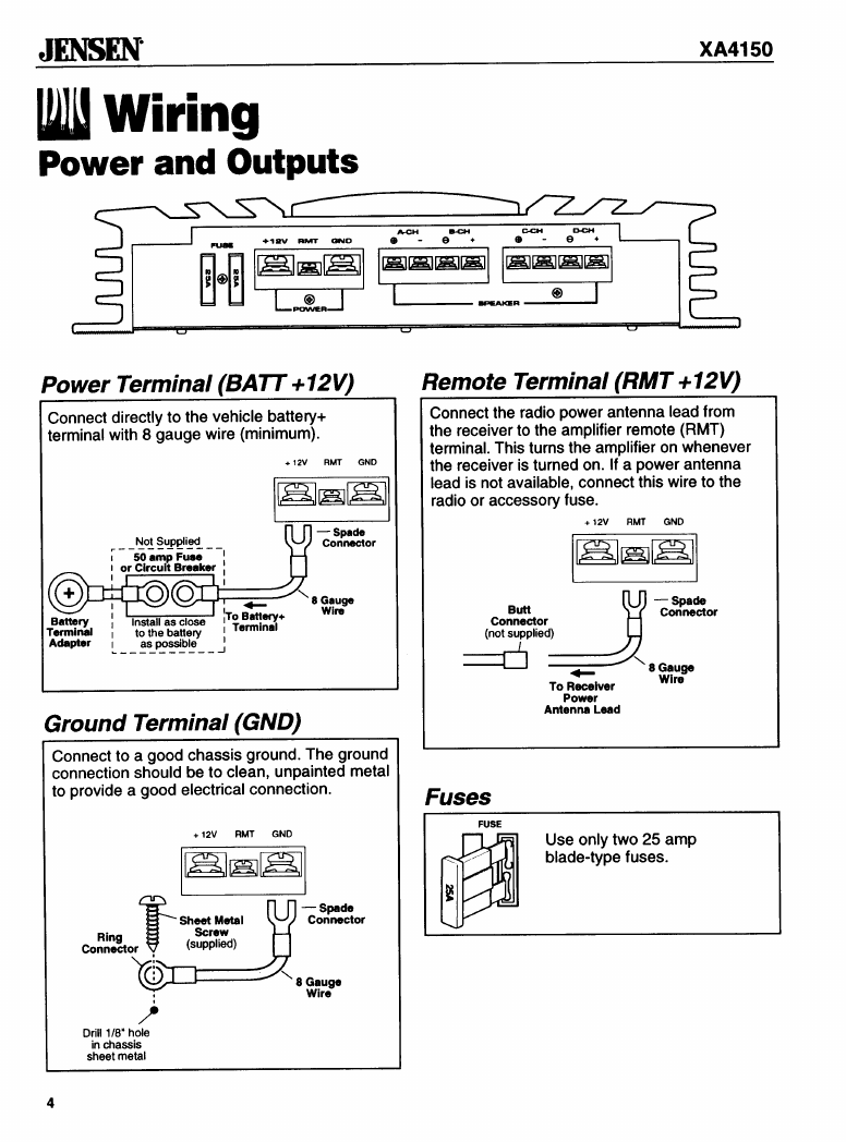 Jensen Vm9312 Wiring Harness Diagram Schematics Diagrams Radio For Vm9412 Car Vx7022 Uv10