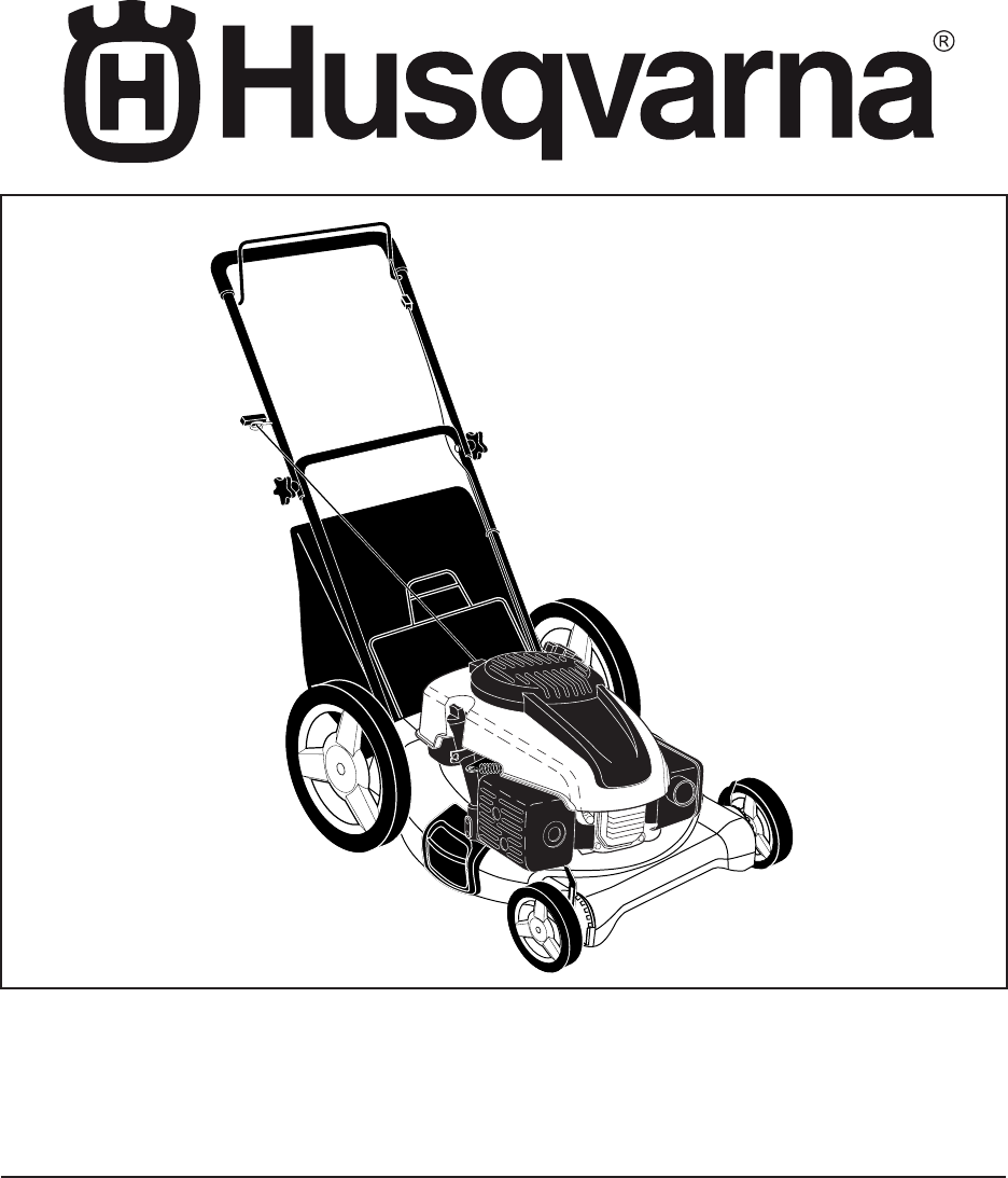 husqvarna lawn mower 6021p user guide manualsonline com rh manualsonline com Husqvarna 6021P Air Filter Husqvarna 6021P Engine Oil