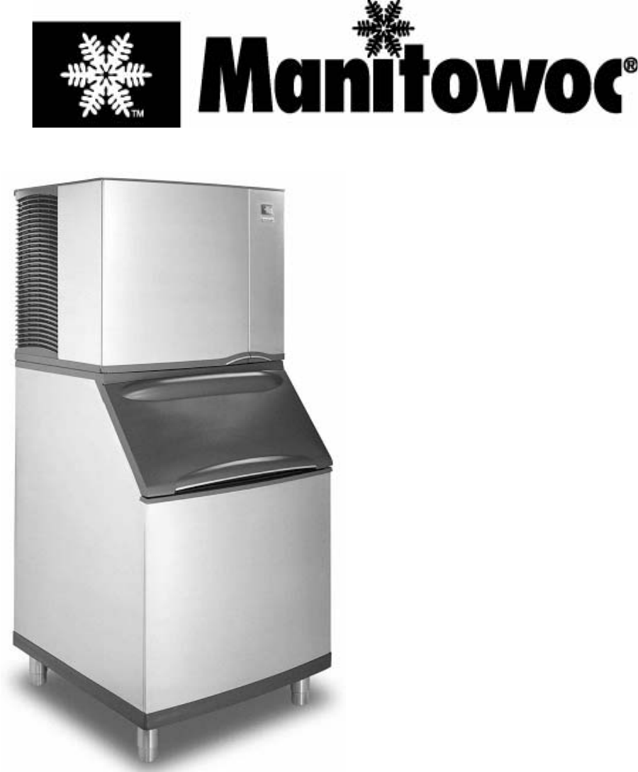 Manitowoc Ice Ice Maker S User Guide