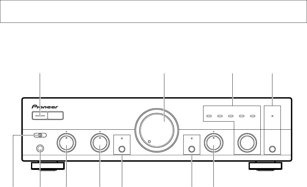 page 6 of pioneer stereo amplifier a 109 user guide manualsonline com rh audio manualsonline com