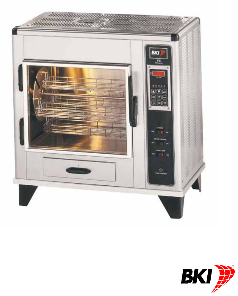 Food Network Countertop Convection Oven Manual : Bakers Pride Oven Convection Oven FS User Guide ManualsOnline.com