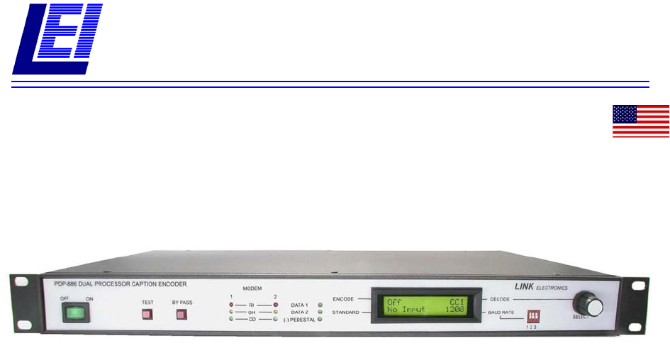 Link electronic Stereo Receiver PDP-886 User Guide | ManualsOnline.com