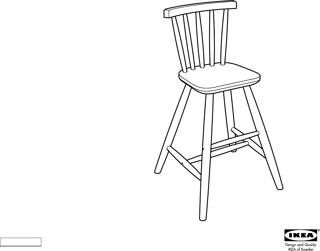 IKEA High Chair AA 183046 3 User Guide  ManualsOnline com