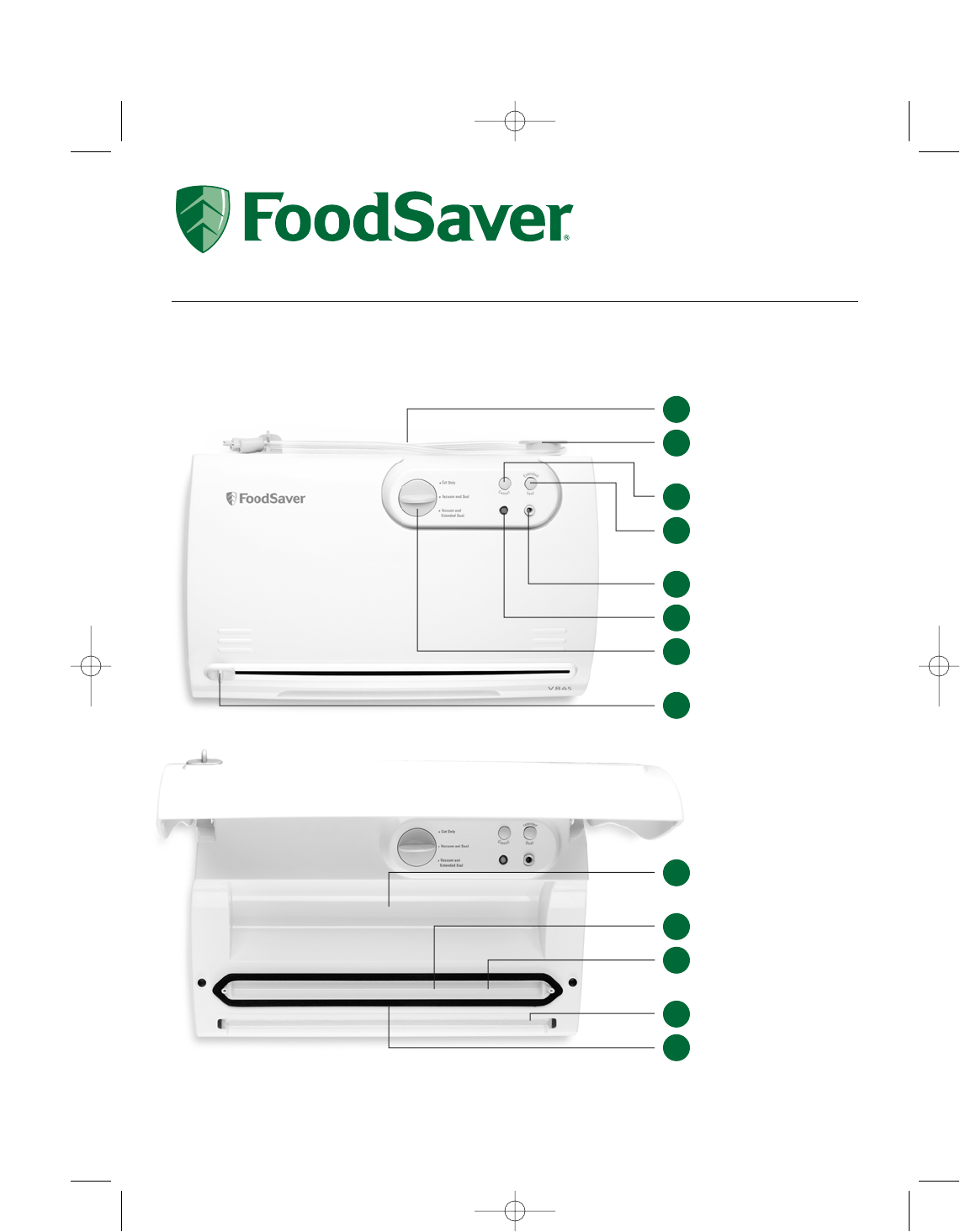 foodsaver food saver v845 user guide manualsonline com rh kitchen manualsonline com Kenmore Dryer Kenmore Elite Washer