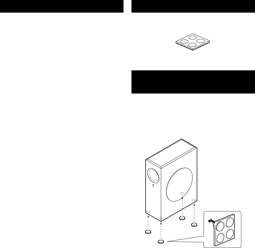 Page 6 of Yamaha Speaker NS-SW210 User's Guide | ManualsOnline.com