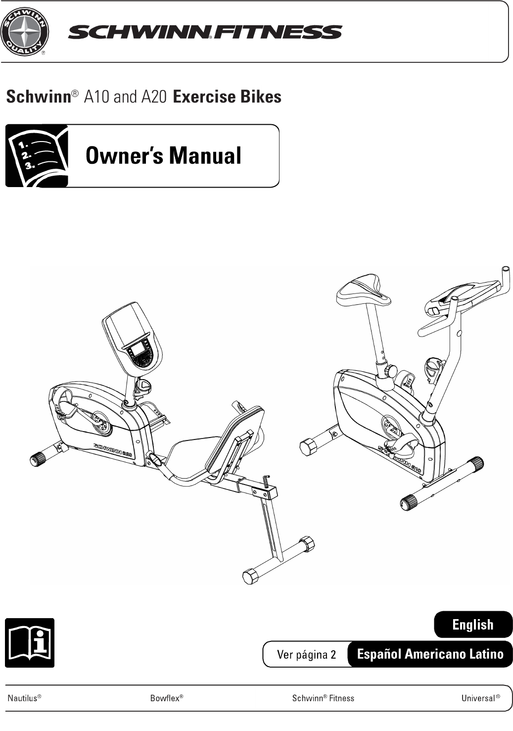 How do you get a manual for the Schwinn exercise bike?