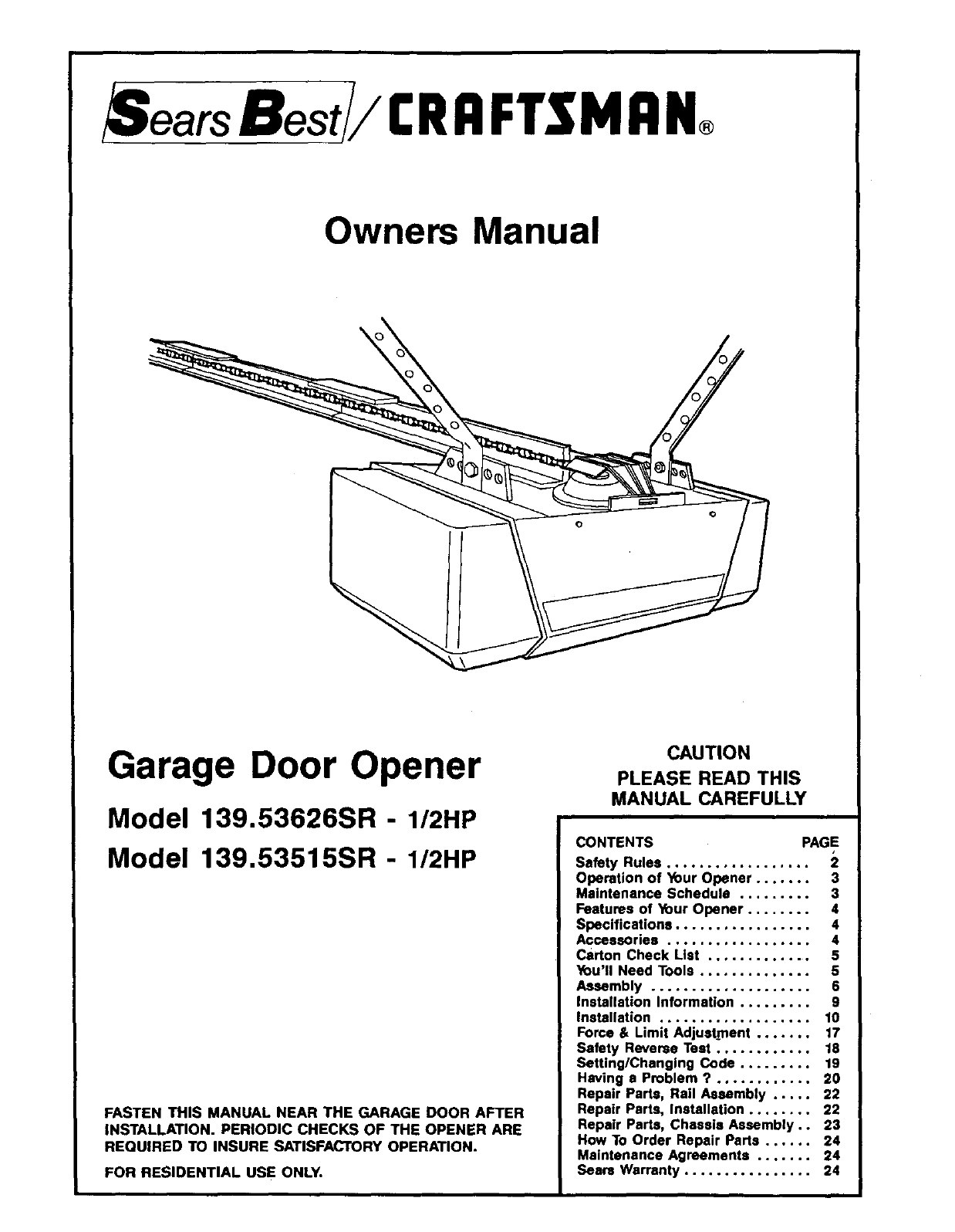 6e97bce9 7ab4 4d1d 9173 64e7868174d5 bg1 craftsman garage door opener 139 53515sr i 2hp user guide craftsman garage door sensor wiring diagram at n-0.co