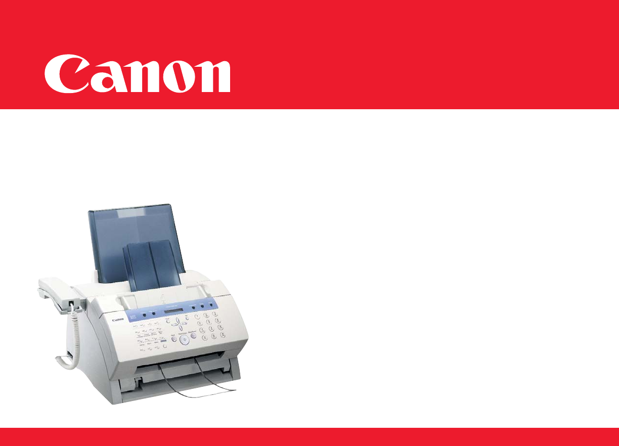 canon fax machine l80 user guide manualsonline com rh office manualsonline com Canon L50 canon faxphone l80 user guide