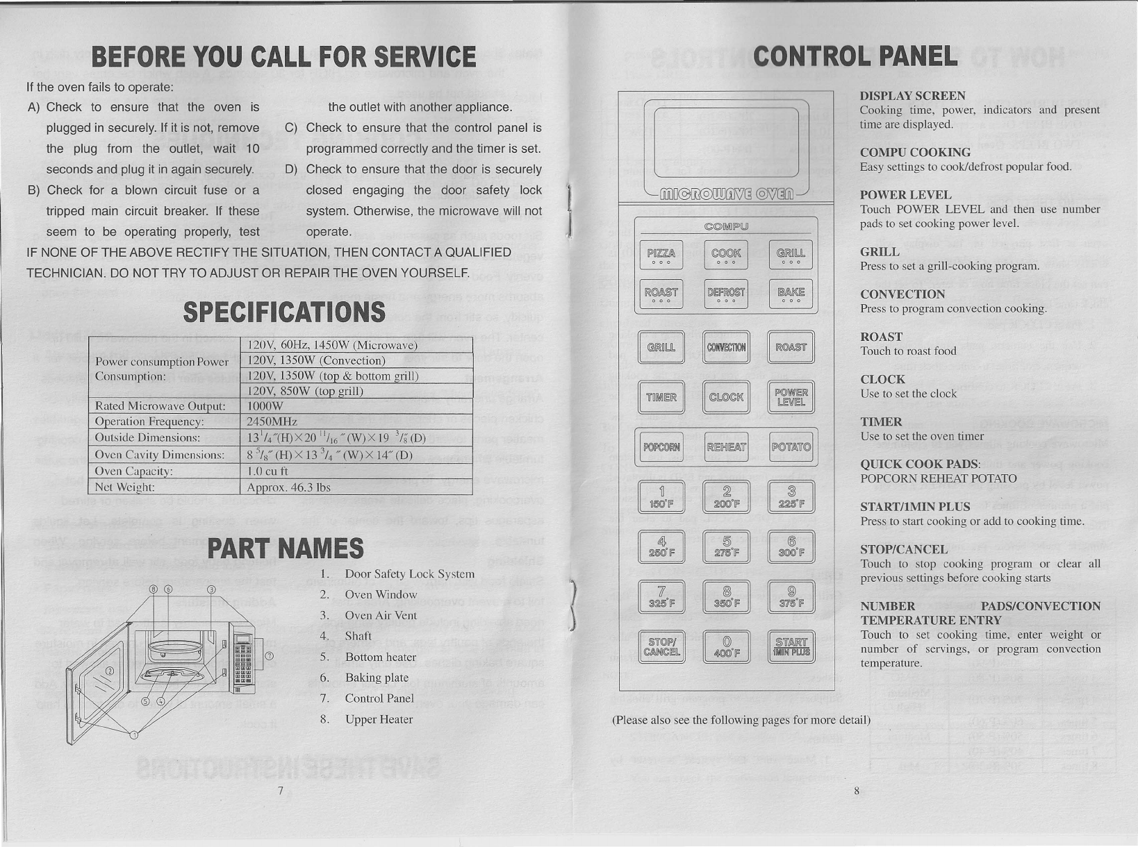 page 5 of sunbeam microwave oven sb 22200 user guide manualsonline com rh kitchen manualsonline com sunbeam convection microwave manual sunbeam microwave manual sgb8901