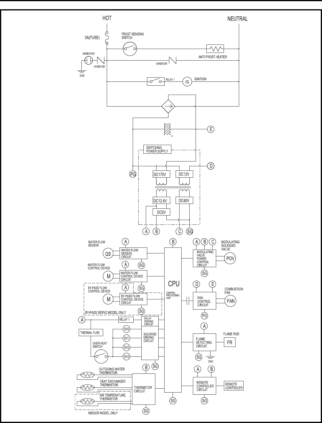 water heater ladder diagram   27 wiring diagram images