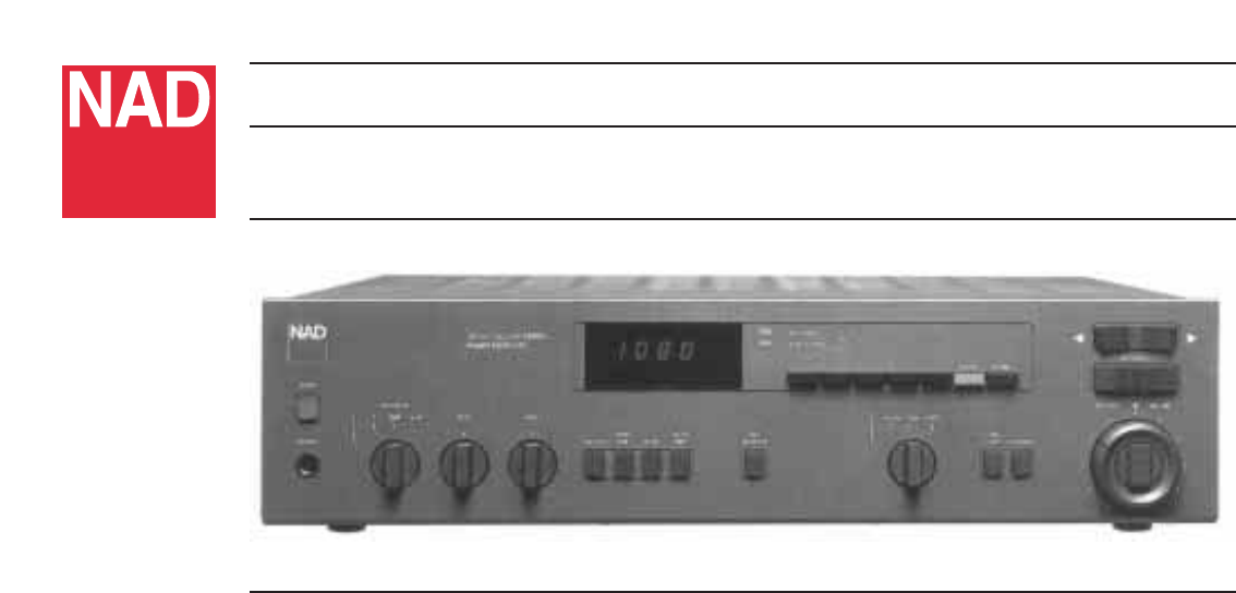 nad stereo receiver 7240pe user guide manualsonline com rh audio manualsonline com Nad 7020E Nad 7020E