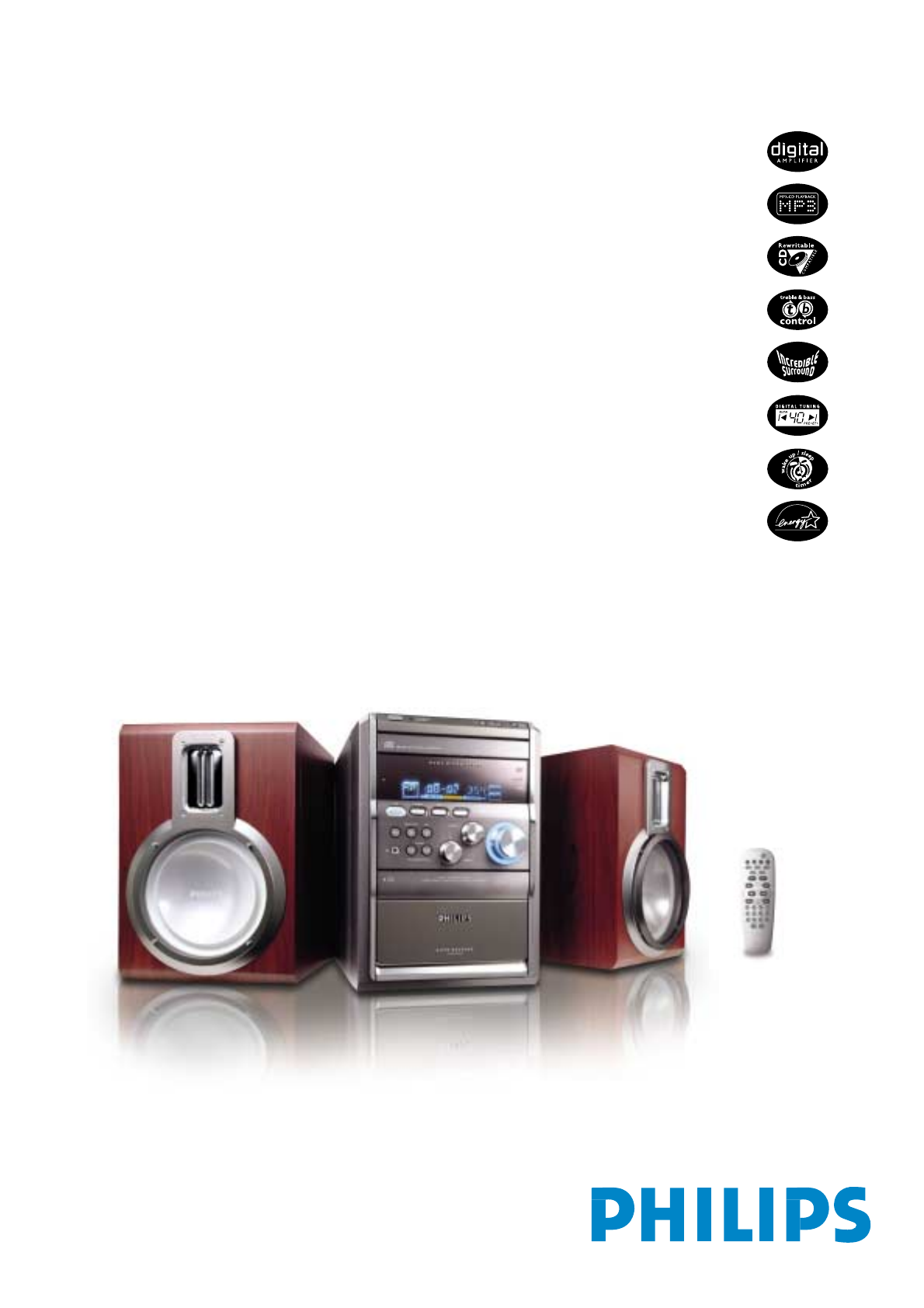 philips stereo system mcm8 33 user guide manualsonline com rh audio manualsonline com Philips User Guides Speaker Bt7900 Philips Ultrasound User Manuals