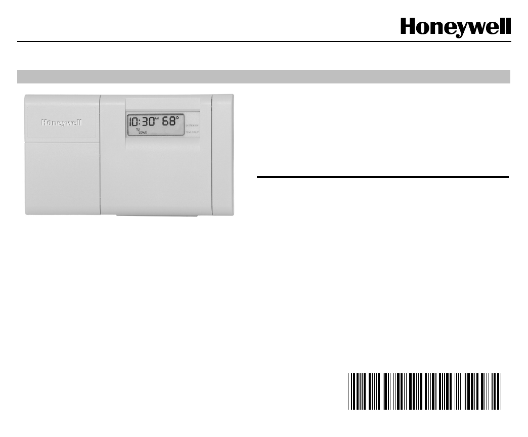 Honeywell Thermostat Ct3200 User Guide Manualsonlinecom Wiring Heat Pump Solutions 10 5