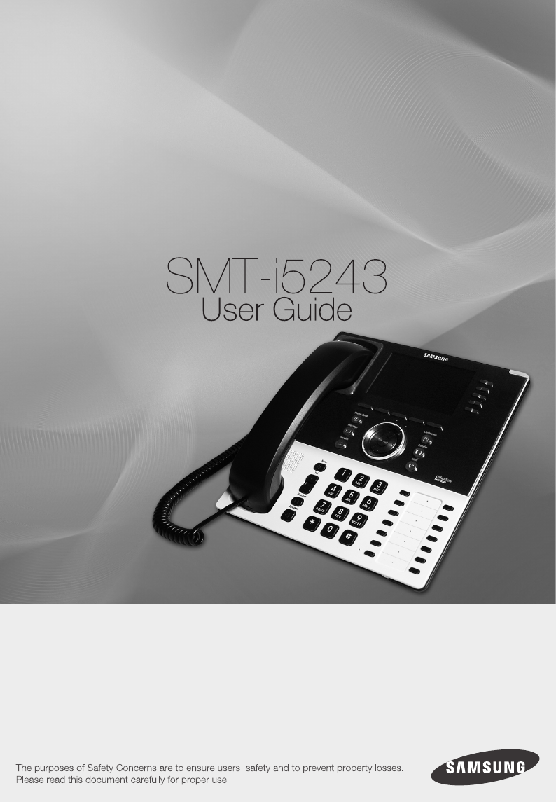 samsung ip phone smt i5243 user guide manualsonline com rh phone manualsonline com Samsung Refrigerator Troubleshooting Guide Samsung Owner's Manual