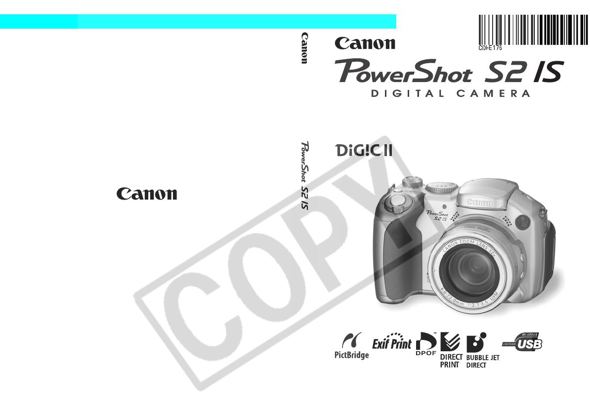 canon digital camera s2 is user guide manualsonline com rh camera manualsonline com powershot s2 is manual canon s2is manual