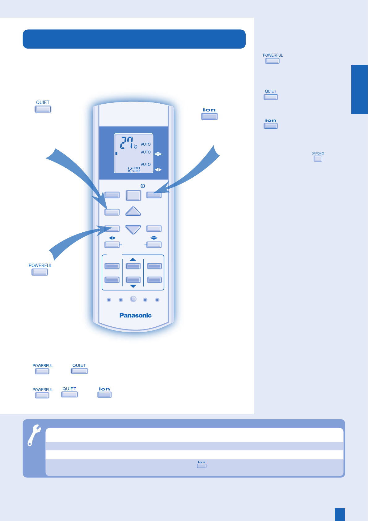 Page 7 Of Panasonic Air Conditioner Cu E24ekr User Guide