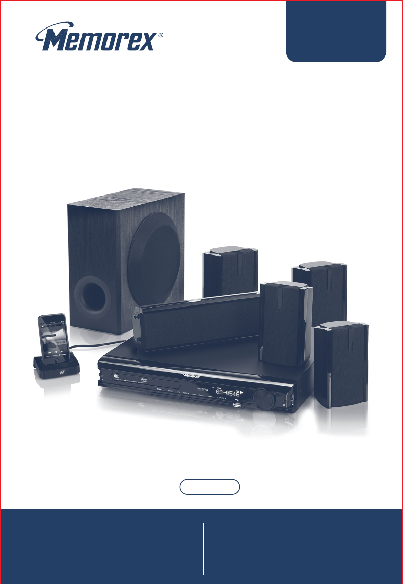 memorex home theater system miht5005 user guide manualsonline com rh audio manualsonline com Home Theater Design Tools Home Theater Posters