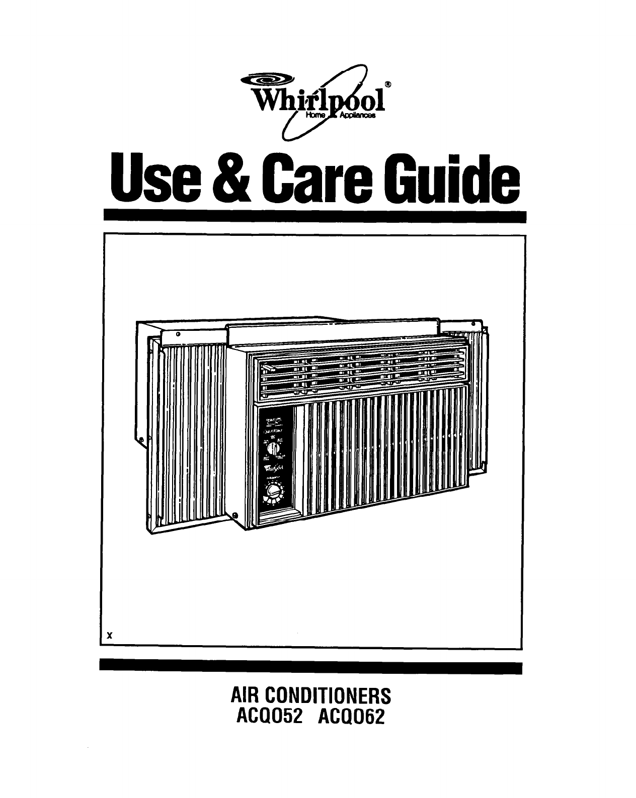 Whirlpool Air Conditioner Acs088gpw Manual Fuse Box Cartoon