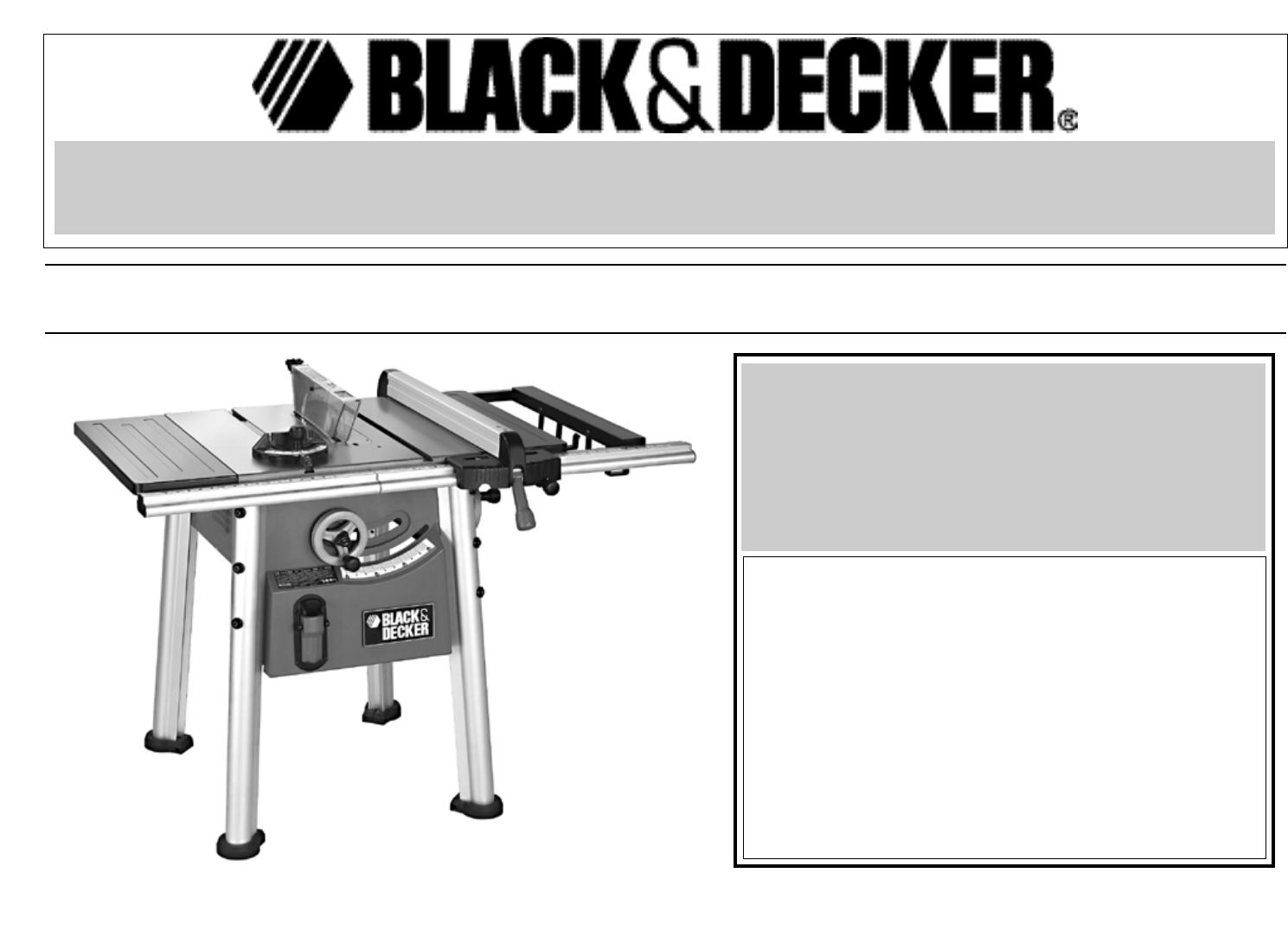 Black decker saw bt2500 user guide manualsonline greentooth Gallery