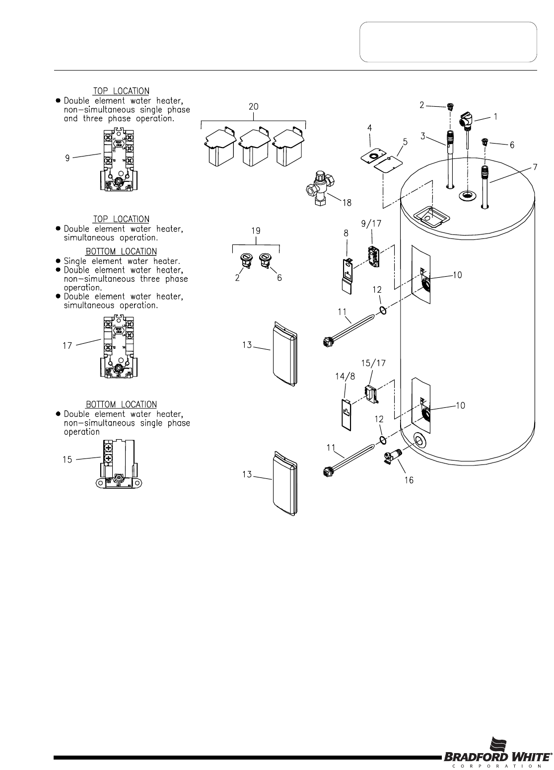 Page 36 of Bradford-White Corp Water Heater M-2-50T6DS User Guide |  ManualsOnline.comHousehold Appliance Manuals - ManualsOnline.com