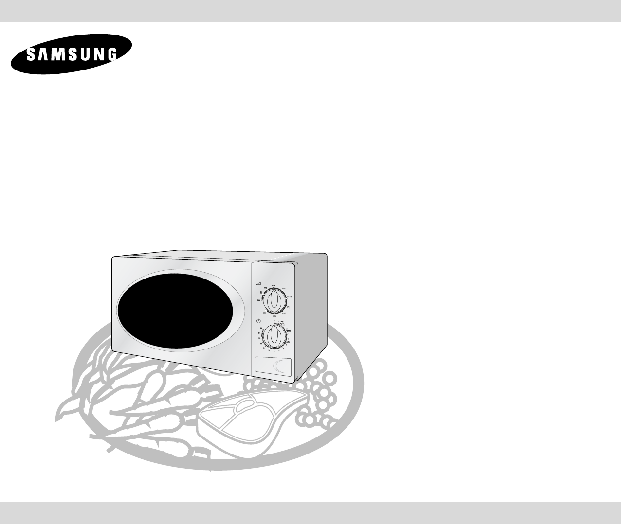 samsung microwave oven g2711n user guide manualsonline com rh kitchen manualsonline com Samsung 1816s Microwave Installation Template Samsung Microwave Repair Manual