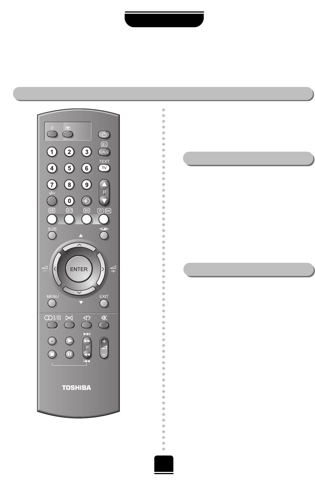 page 19 of toshiba crt television 32zp18p 36zp18p user guide rh tv manualsonline com RCA User Manual For Toshiba TV Manuals