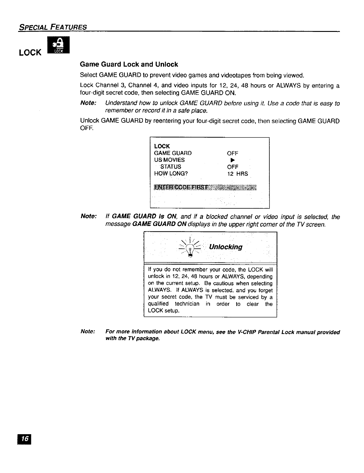 Page 17 of Panasonic CRT Television CT-F2121L User Guide