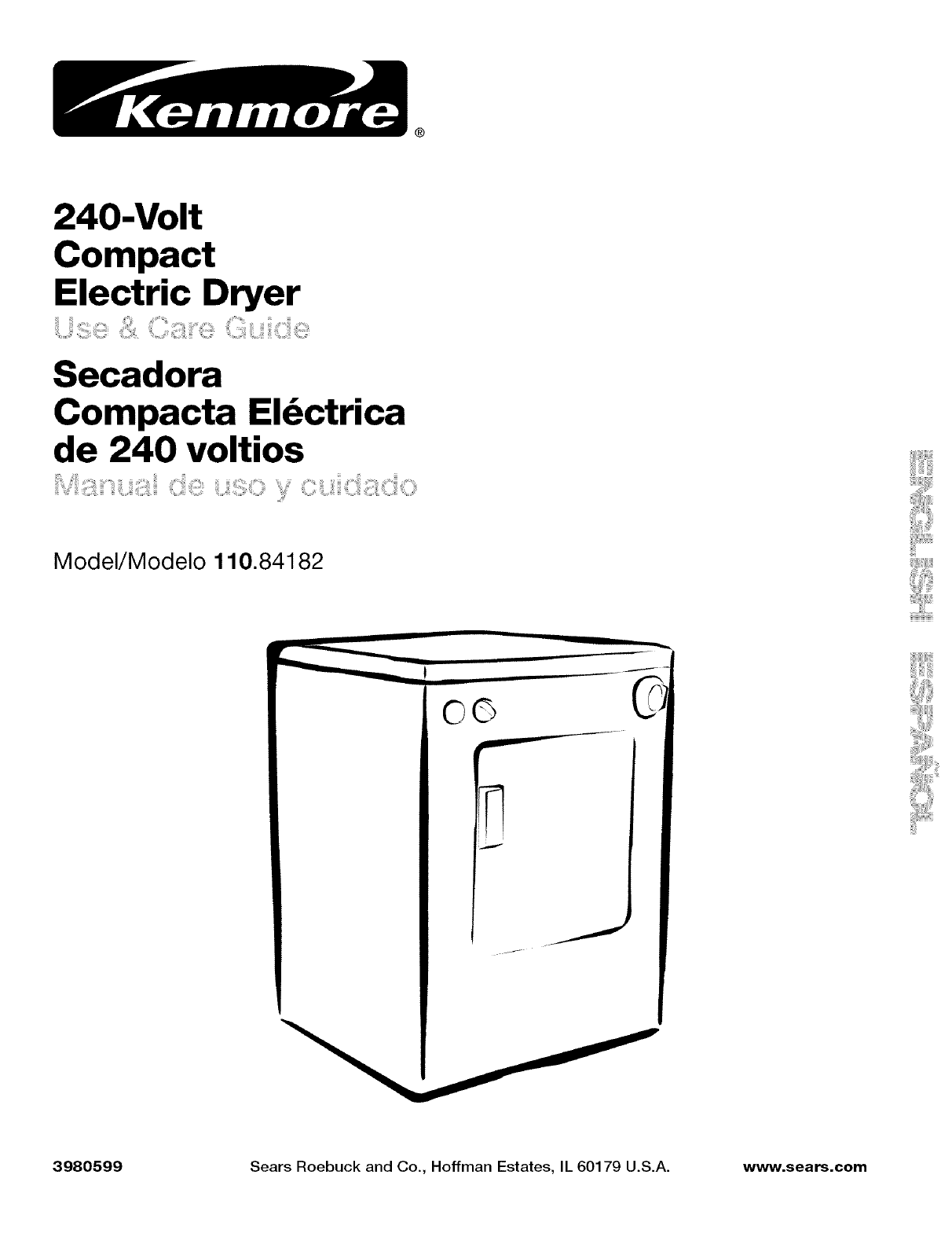 kenmore clothes dryer 110 84182 user guide manualsonline com rh laundry manualsonline com Kenmore Dryer Troubleshooting Kenmore Dryer Troubleshooting