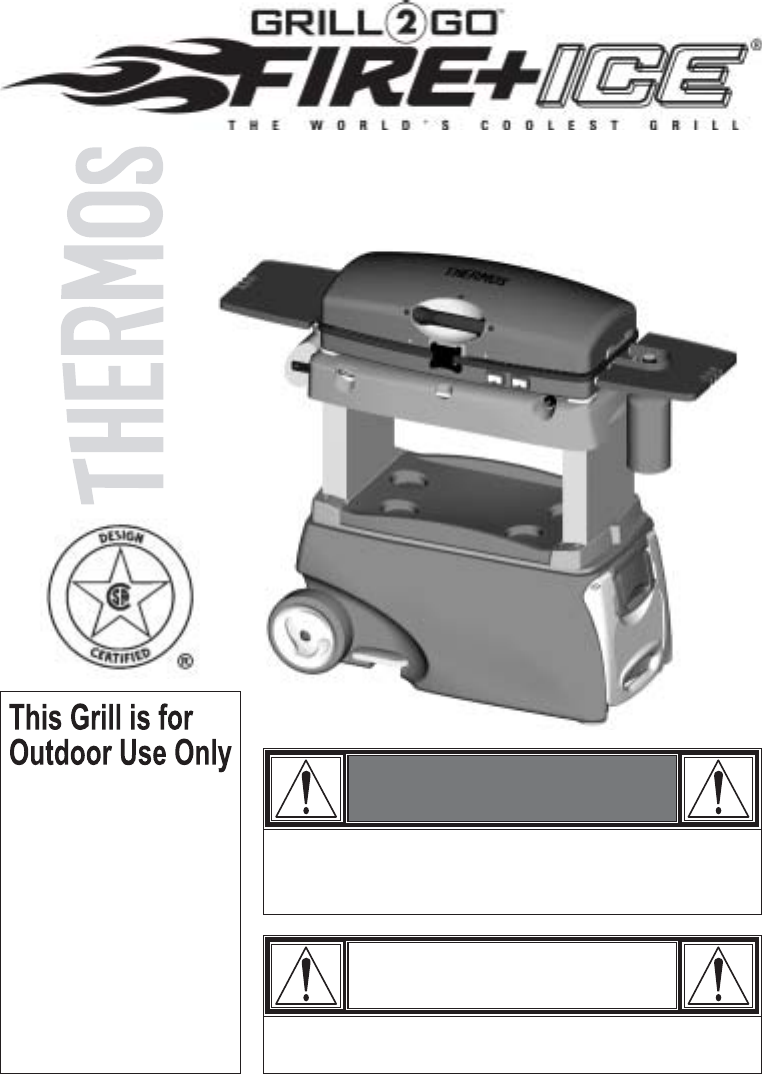 thermos gas grill 465630003 user guide. Black Bedroom Furniture Sets. Home Design Ideas