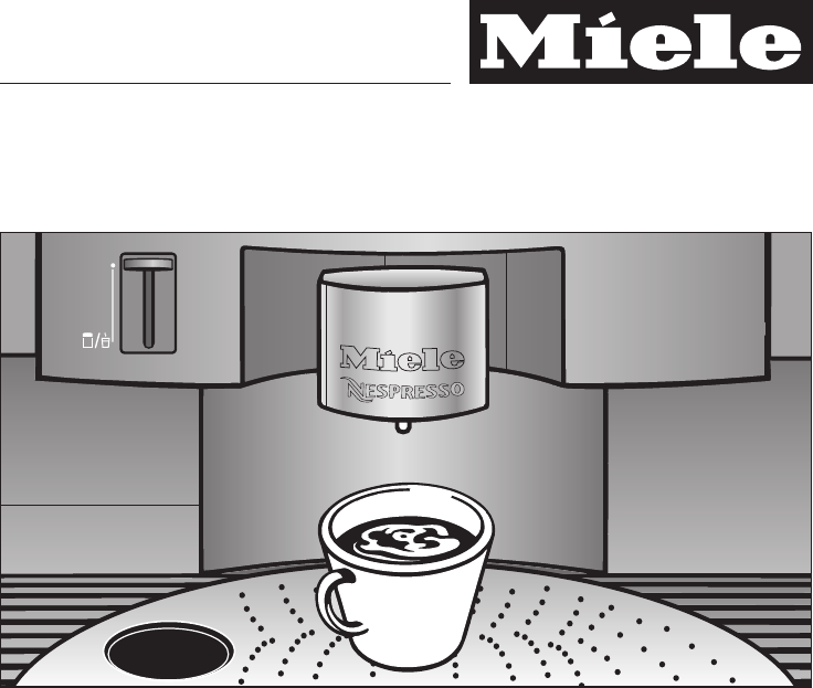 miele coffeemaker cva 2660 user guide. Black Bedroom Furniture Sets. Home Design Ideas