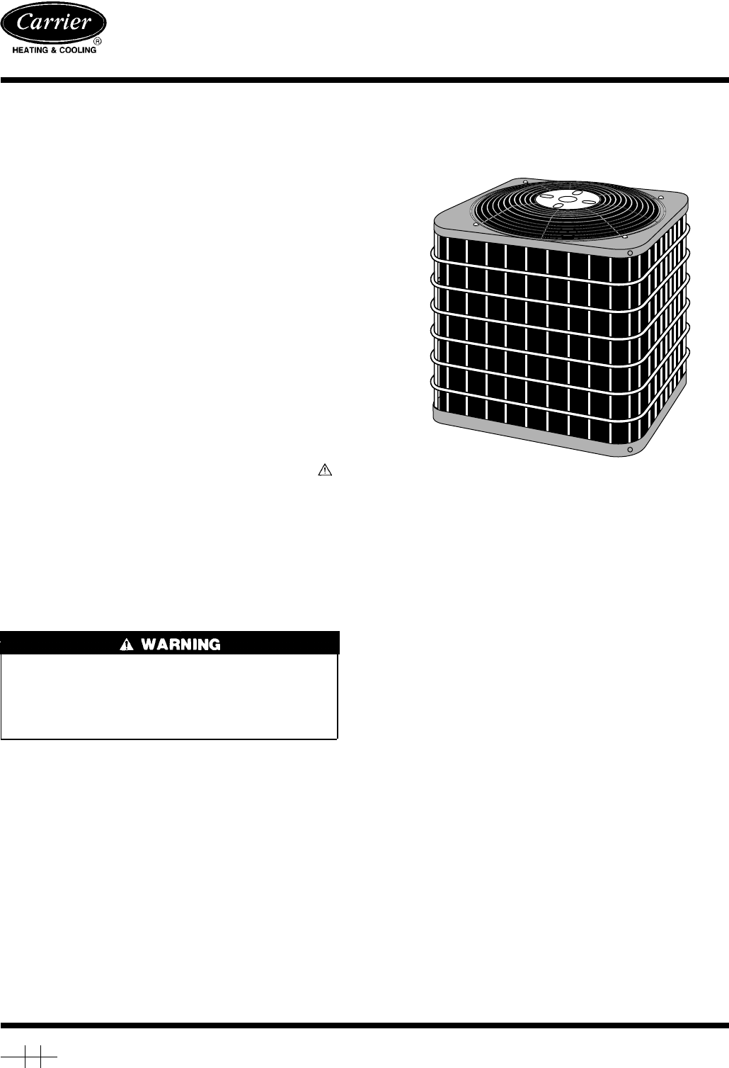 carrier air conditioner 38ckc q  user guide