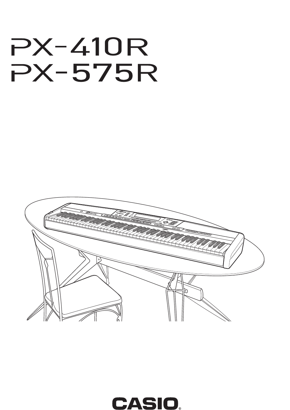 casio px-575r manual