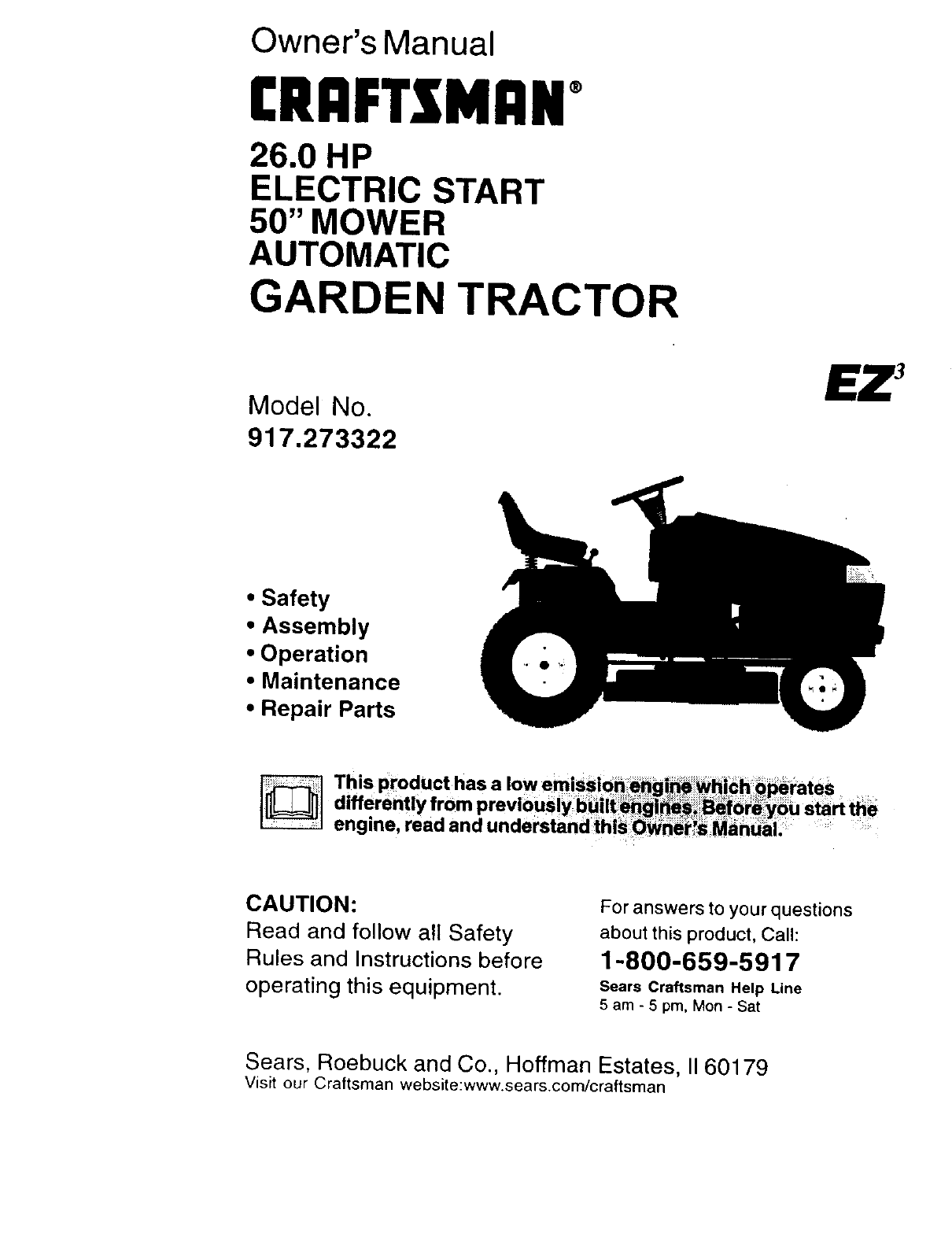 lawn mower repair manuals pdf