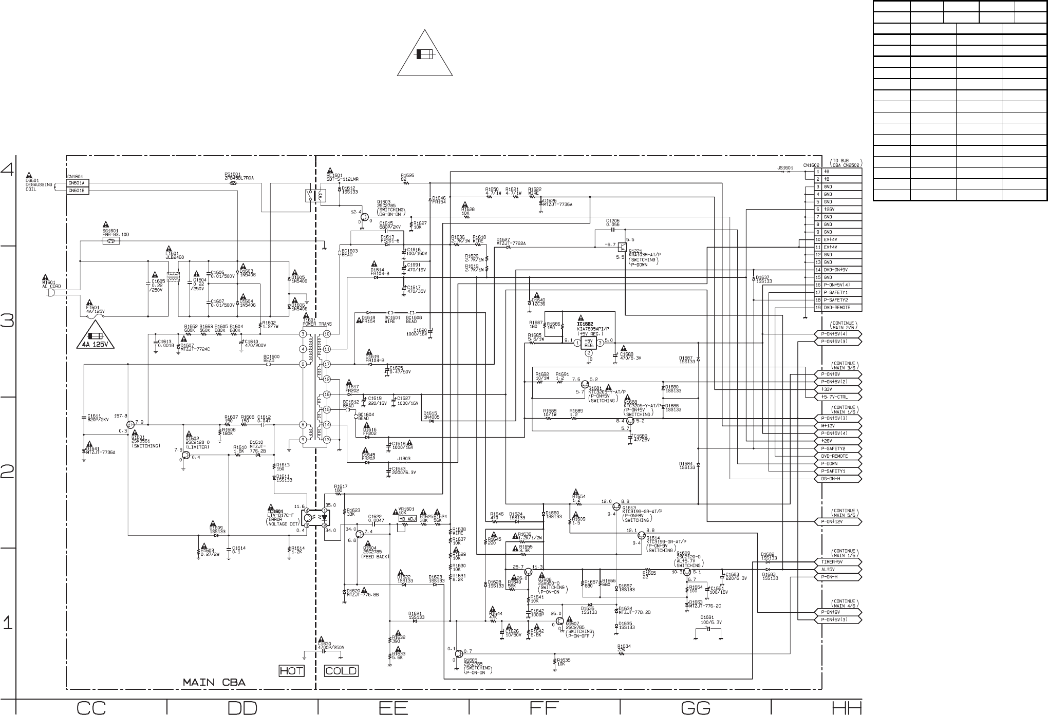 Magnavox Tv Schematic Diagrams Wiring Diagram For Light Switch Damon Intruder Page 46 Of Vcr Combo Mwc24t5 User Guide Manualsonline Com Rh Samsung Remote Codes