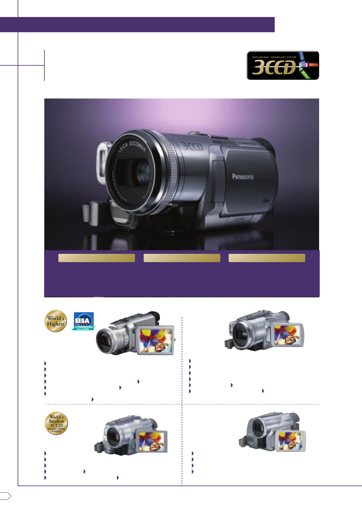 page 4 of panasonic camcorder nv