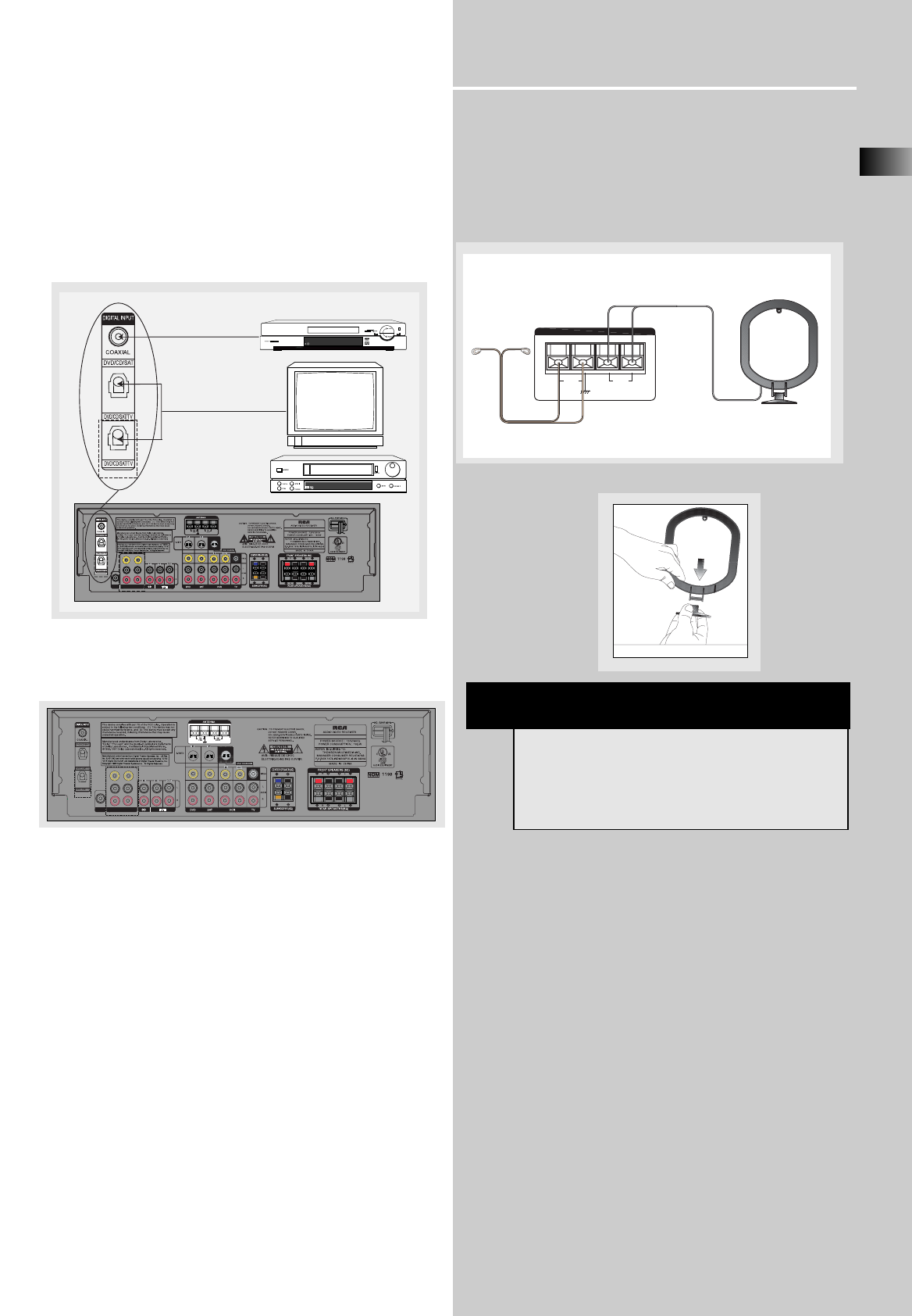 page 8 of rca stereo receiver rt2350 user guide manualsonline com rh audio manualsonline com Instruction Manual Example Manuals in PDF