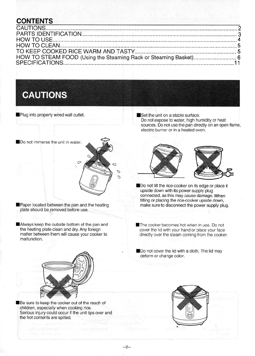 Page 3 Of Panasonic Rice Cooker Sr Sh10rn User Guide Manualsonlinecom Wiring Diagram 12