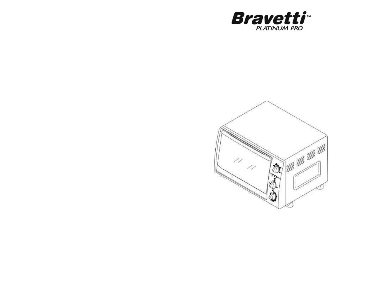 Bravetti Convection Oven To23h User Guide Manualsonline Com