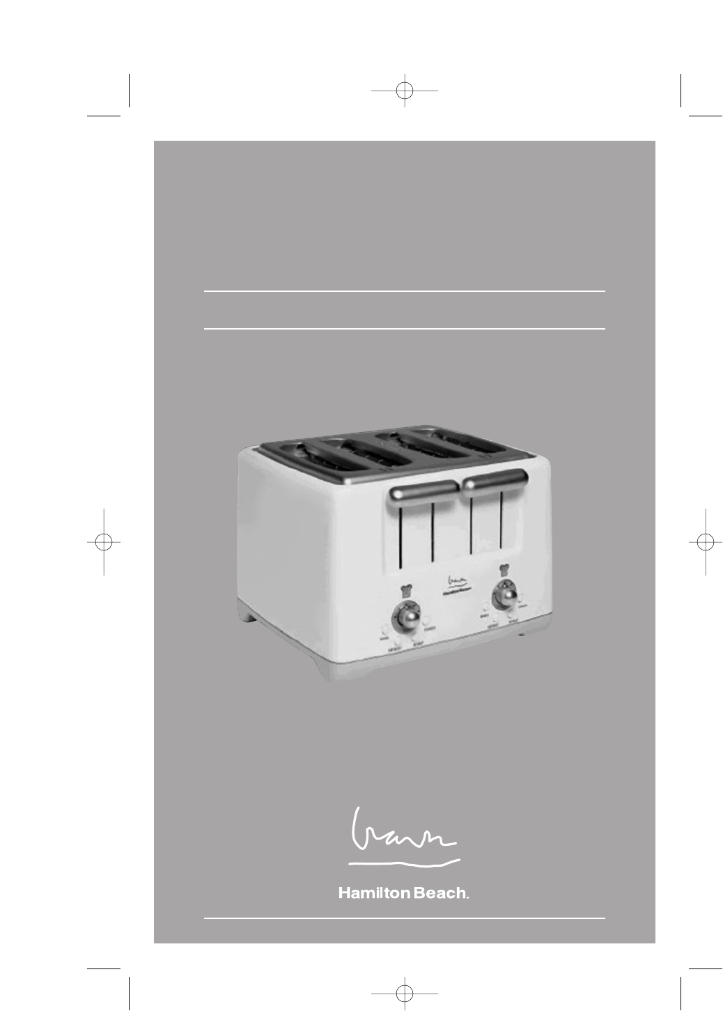 hamilton beach toaster 4 slice toaster user guide manualsonline com rh kitchen manualsonline com hamilton beach owners manual 50199 hamilton beach brewstation owners manual