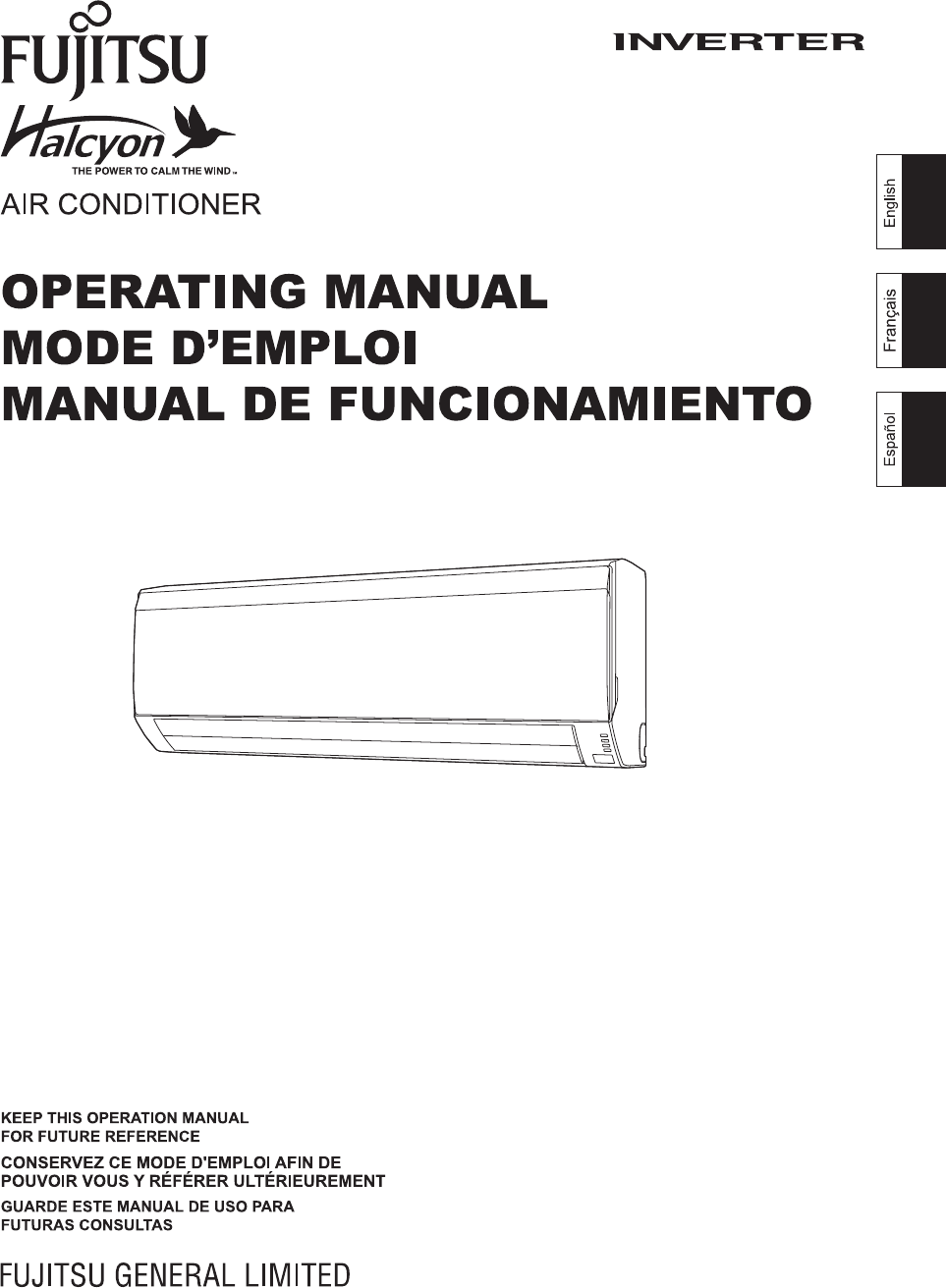 fujitsu superwave air conditioner manual
