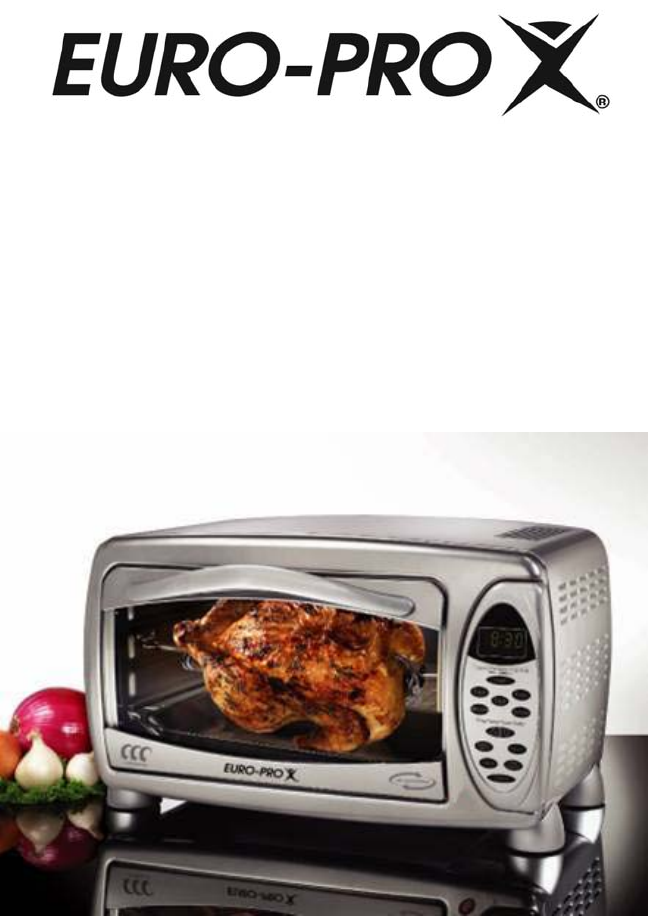 Euro Pro Convection Oven TO31 User Guide