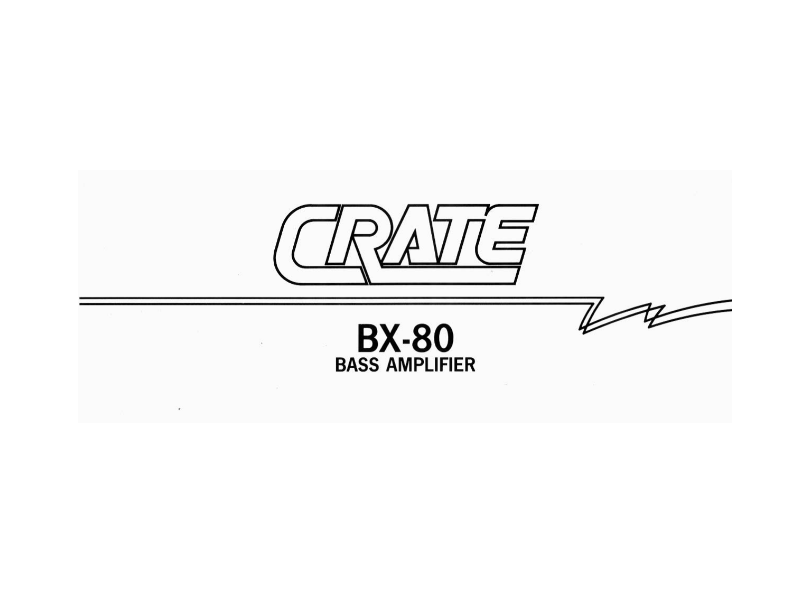 Wiring Diagram Crate Guitar Amplifier Page 3 And Bass Amp Amplifiers Al Instrument Bx 80 User Guide Yamaha B