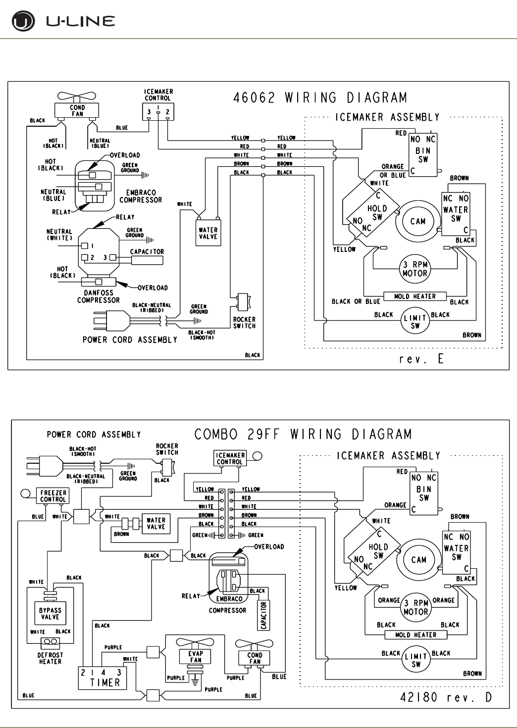 7502df08 1fff 4576 9ce4 e53bc1eea1d4 bg3e page 62 of u line ice maker uln 98 user guide manualsonline com ice maker wiring schematic at crackthecode.co