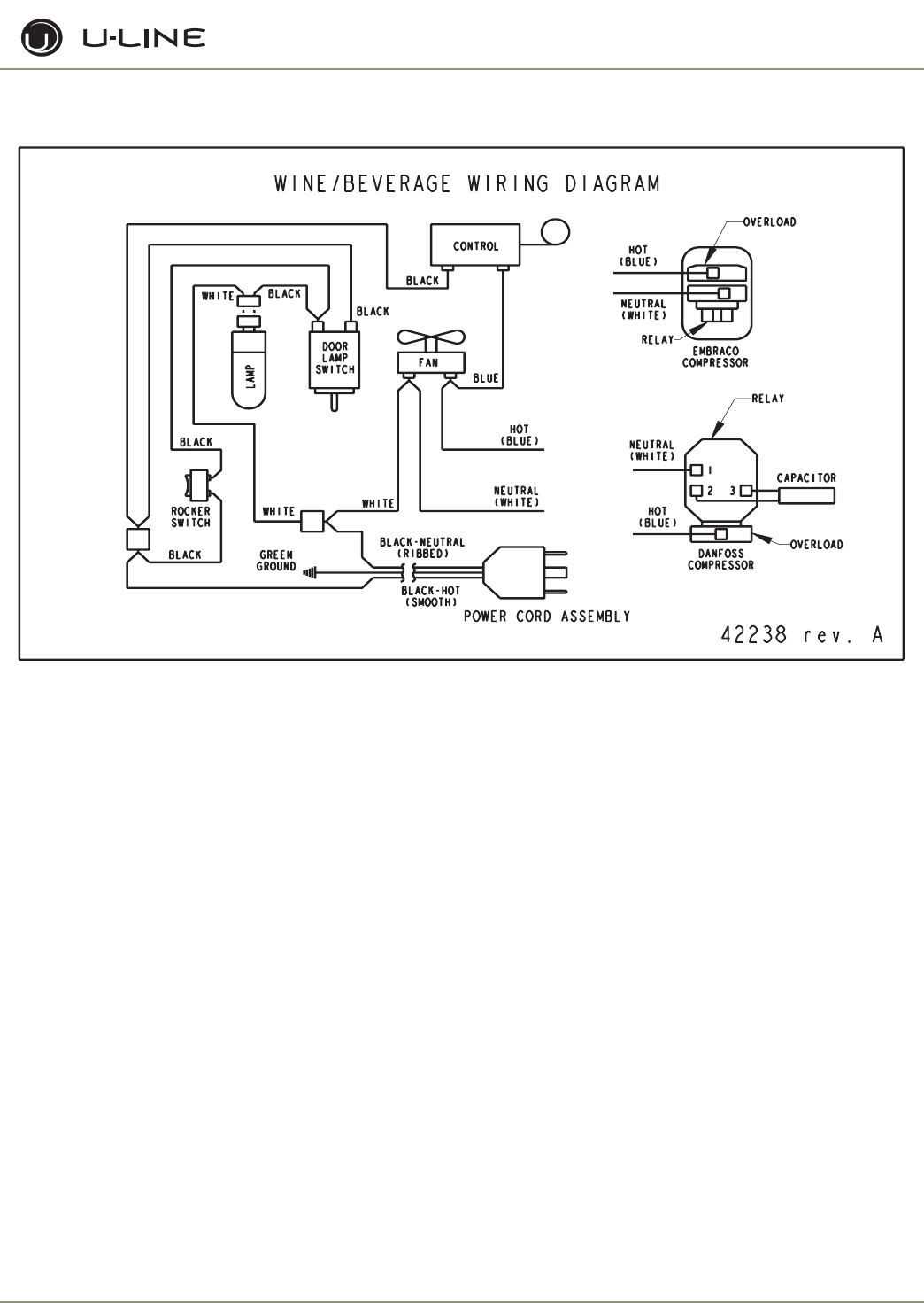 Page 64 of U-Line Ice Maker U-CO29F User Guide | ManualsOnline.com U Line Ice Maker Wiring Diagram on refrigerator wiring diagram, dishwasher wiring diagram, maytag dryer wiring diagram, trash compactor wiring diagram, ice maker schematic diagram, garbage disposal wiring diagram, microwave wiring diagram,