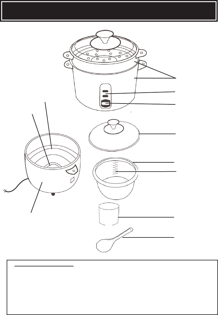 page 6 of aroma rice cooker arc 717 ing user guide manualsonline com rh kitchen manualsonline com Colorful Art Bowl of Soup Clip Art