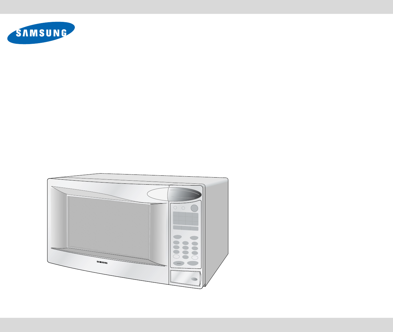 samsung microwave oven user manual pdf