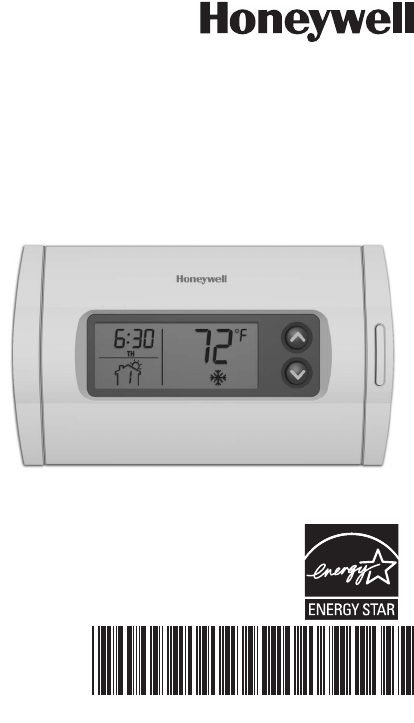 honeywell rth2310 thermostat installation manual complete wiring diagrams Honeywell Programmable Thermostat RTH2310B Manual Honeywell Thermostat Wiring Diagram
